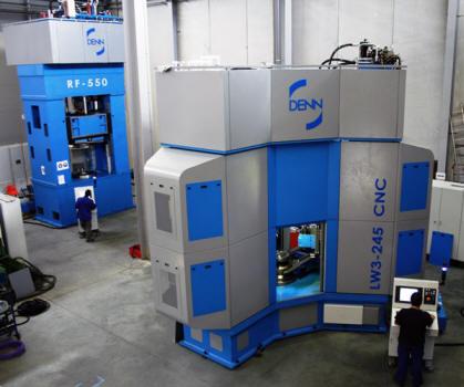 DENN rotary forging machine