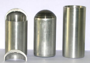 DENN - tube end forming sample parts