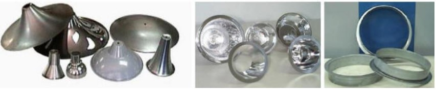 lighting applications - parts formed on DENN machinery