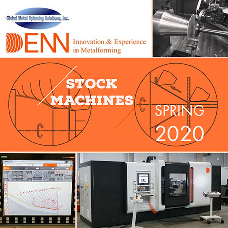 DENN stock metal forming machines flyer
