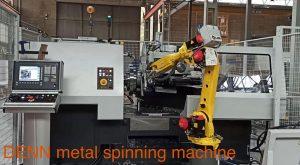 DENN metal spinning work cell