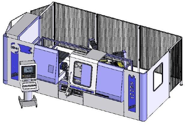 DENN ZENN-100 CNC metal spinning machine